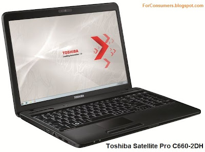 Toshiba Satellite C660 laptop