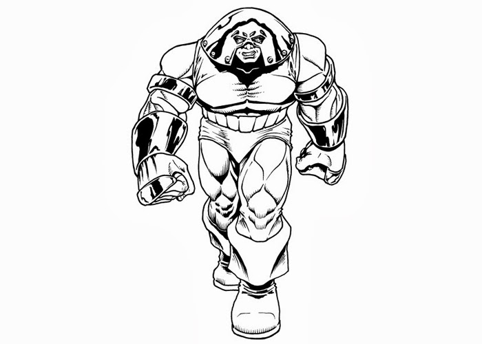 Juggernaut Coloring Pages Free Coloring Pages And Coloring Books