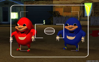 Download mod Skin Ugandan Knuckles para GTA San Andreas, Jogo GTA SA PC