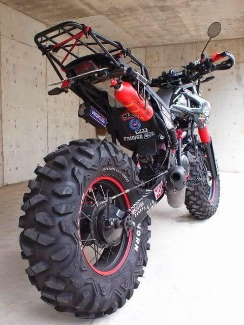 Custom Yamaha TW 200 Trailway