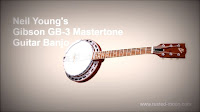Neil Young Gibson GB-3 Banjo