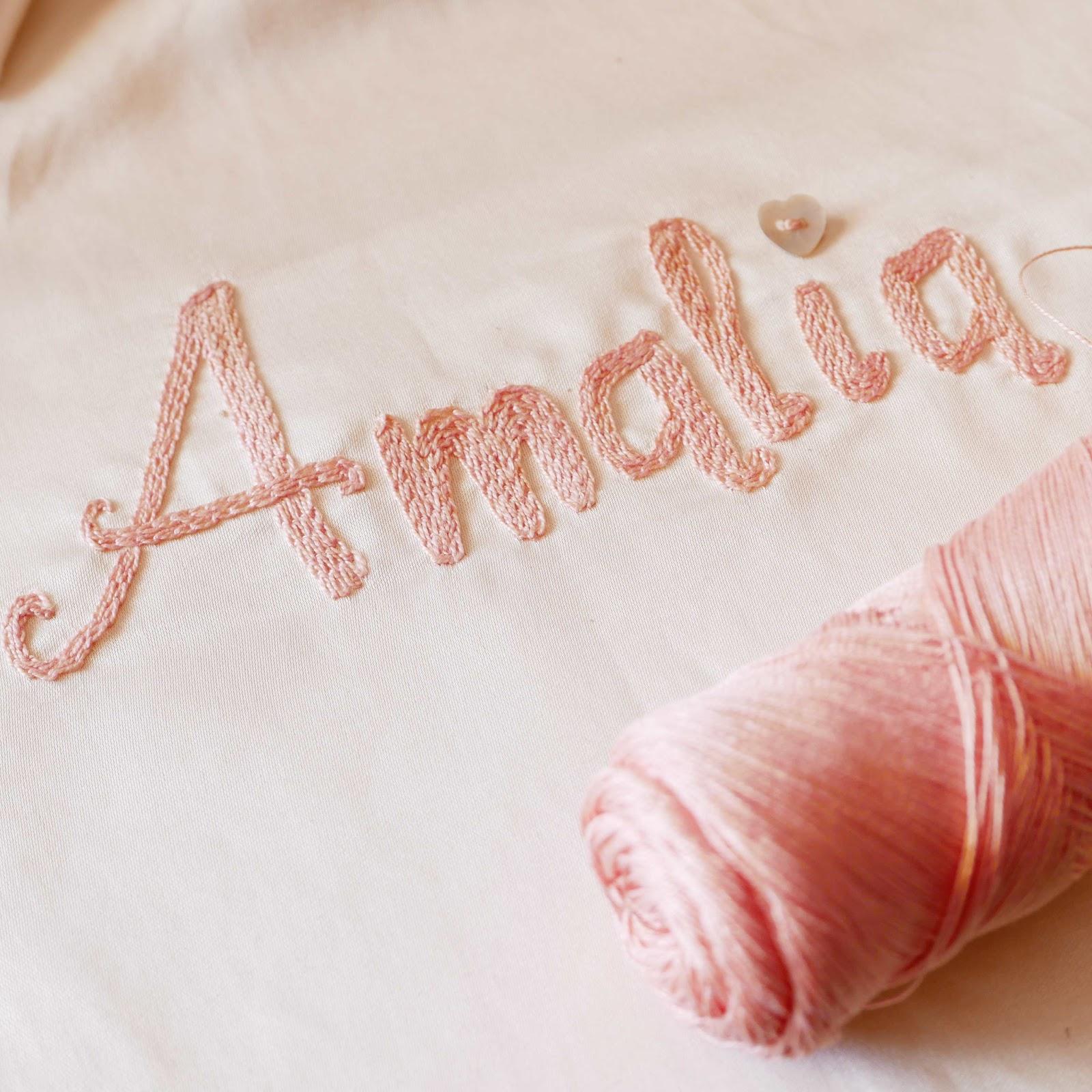 Cómo bordar letras - Handbox Craft Lovers   Comunidad DIY ...