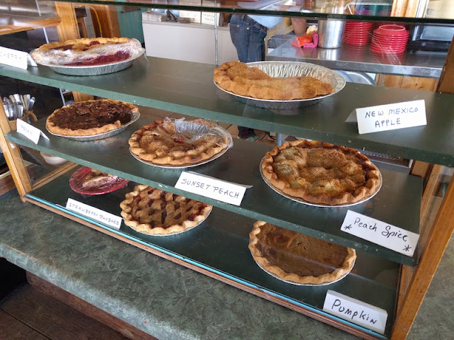 Plenty of pies to choose from at Pie Town Cafe