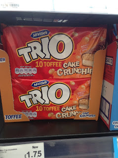 mcvities trio toffee cake crunchers