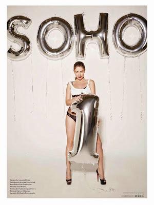 Fotos Ludwika Paleta Revista SOHO Octubre 2014