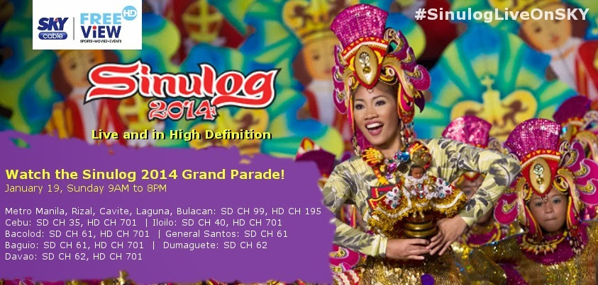 Skycable Sinulog 2014