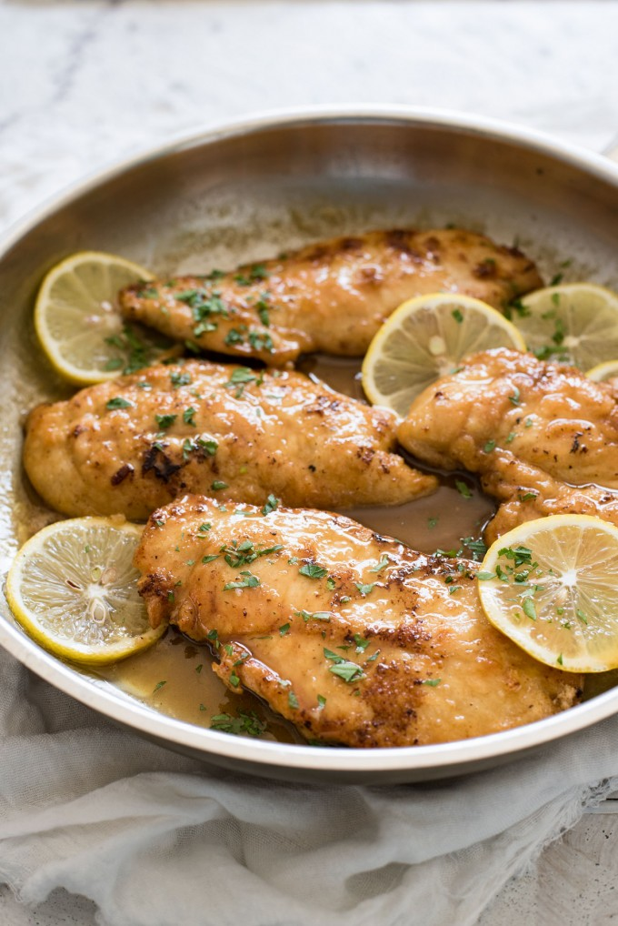 lemon honey chicken breasts recipe