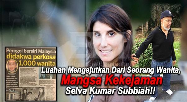 Ini Luahan Mengejutkan Dari Seorang Wanita, Mangsa Kekejaman Selva Kumar Subbiah!! Rupanya Ini Rahsia Sebenar!!!
