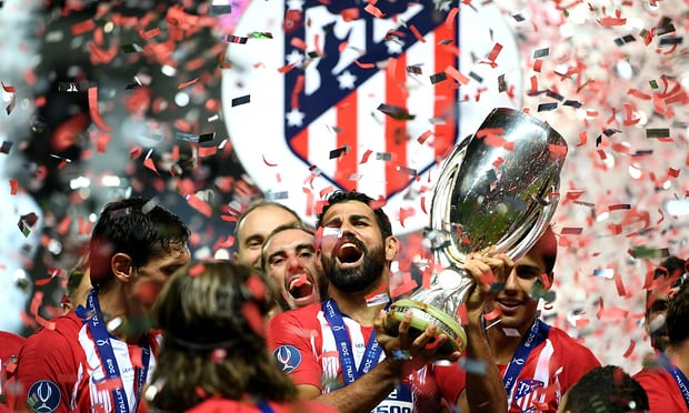 Diego Costa double helps Atlético beat Real Madrid 4-2 in Uefa Super Cup