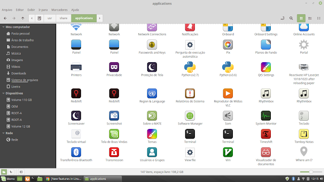 Novo tema do Linux Mint