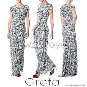 Princess Sofia wore Greta Rose gown