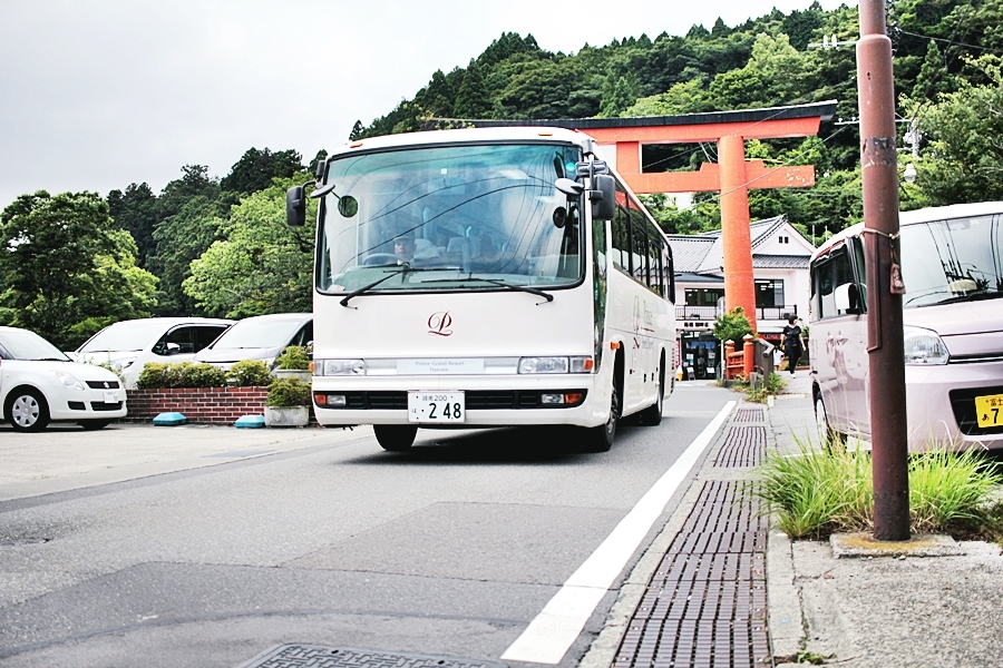 bus fahren in japan shuttle