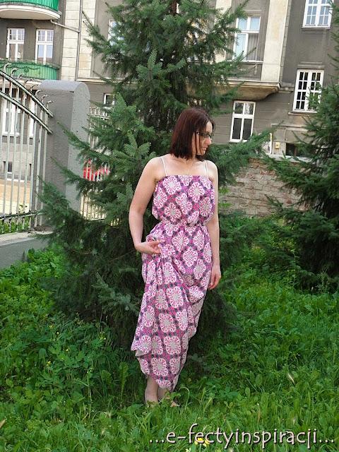e-fectyinspiracji maxi sukienka na lato sukienka - Atmosphere baleriny - Parfois