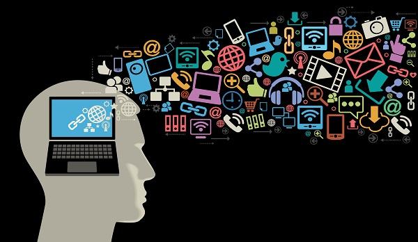 technology advancement creativity pros marketing cons lifestyle today todays education internet digital technologist symbols silhouette marketer future impact tech teaching