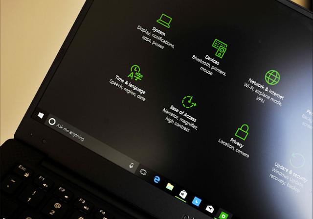 تفعيل windows 10 dark theme المظهر الداكن للويندوز 10 بنقرة زر واحدة