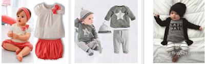 Promoções online para bebês