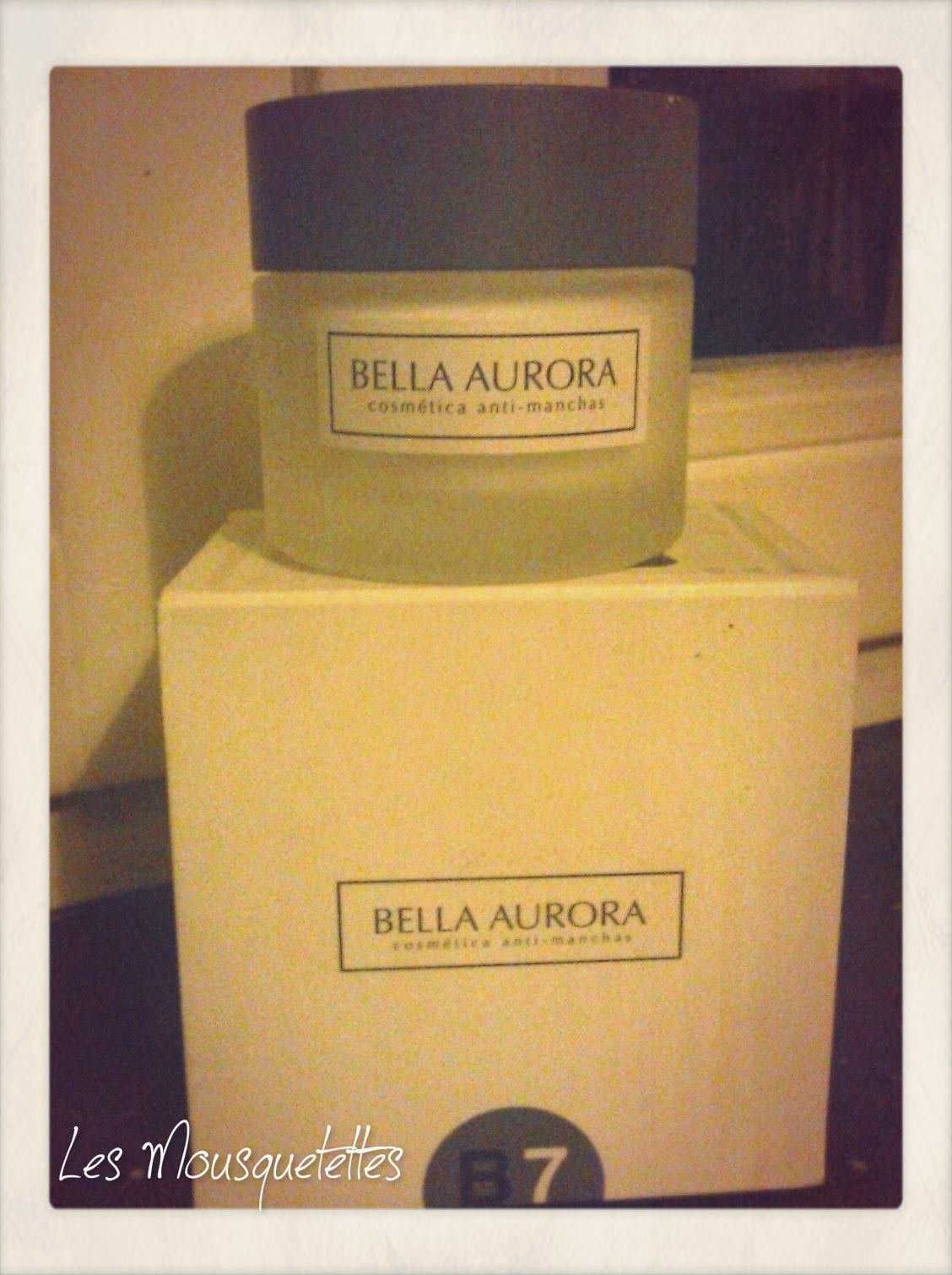 Crème B7 Bella Aurora - Les Mousquetettes©