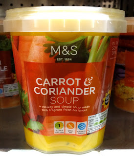 M&S Carrot & Coriander Soup