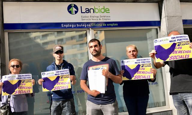 Protesta de Berri-Otxoak ante Lanbide