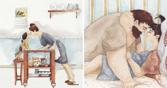 30 теплых иллюстраций о семье, которые растопят даже ледяное сердце