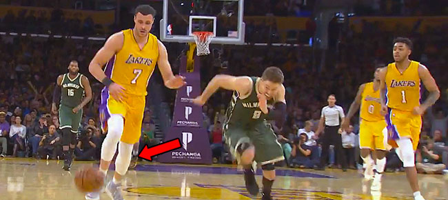 Larry Nance Jr. Steal, No-Look, Over-the-Head Trick Shot (VIDEO)
