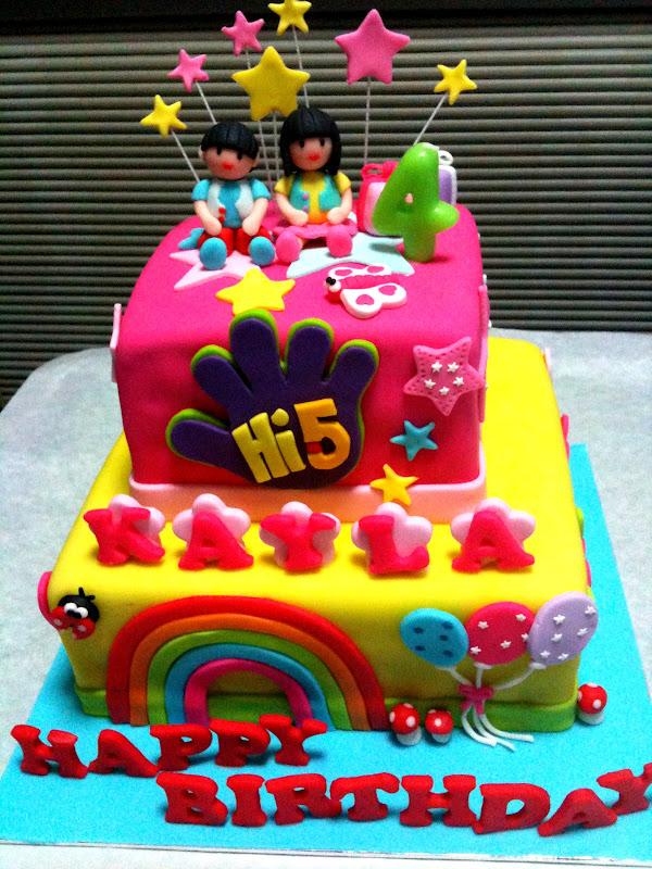 Happy Th Birthday Kayla Cake