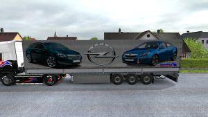Opel Insignia Schmitz trailer