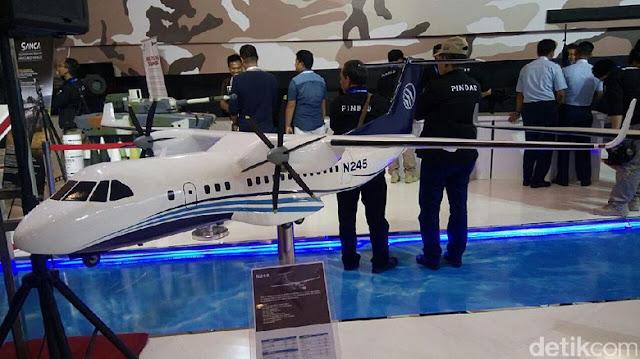 Idonesia buat Pesawat N245 Made in Bandung atas intruksi Presiden