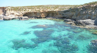 Isla de Comino, Malta.
