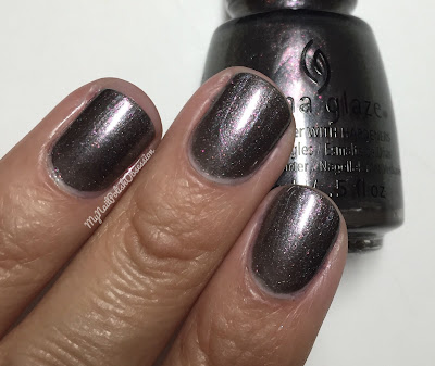 China Glaze; Fall 2016 Rebel Collection - Heroine Chic