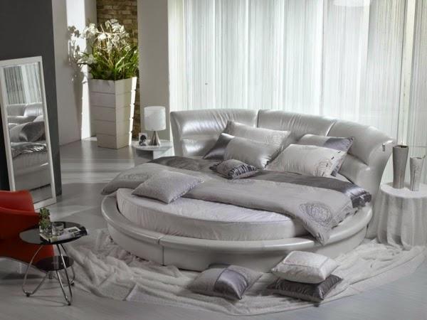 cuarto matrimonial cama redonda