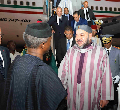 Photos: King Of Morocco Arrives Nigeria