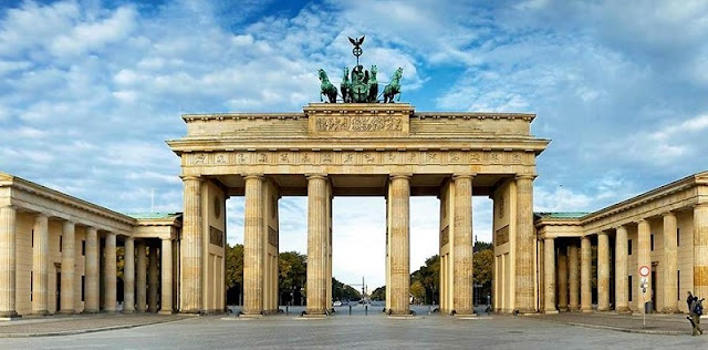 Portão de Brandemburgo na Alemanha