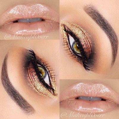 New style natural looking eye shadows