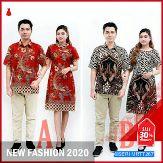MRTT267M58 Maura Couple Sania Ruffle Batik Couple BMGShop