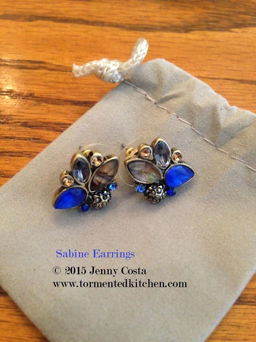 Sunset Seine earrings