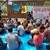 दिल्ली विश्वविद्यालय के सफाई कर्मचारियों ने किया भूख हड़ताल, केवाईएस हुआ शामिल   Delhi University's Clean Workers did the hunger strike, KYS happened