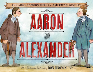 Aaron and Alexander by Don Brown book cover