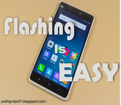 Cara Flash Hp Android