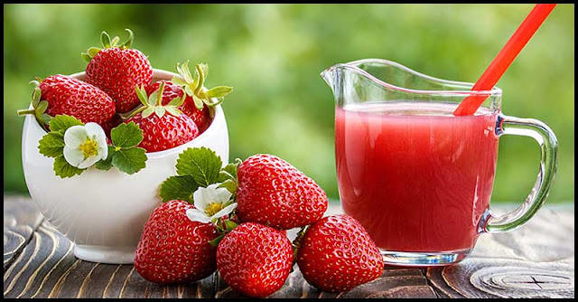 How Strawberry Juice Benefits Our Skin And Hair