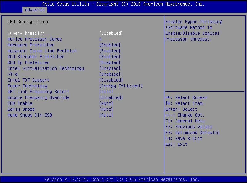 Masa's blog: Fujitsu PRIMERGY: How to change BIOS settings
