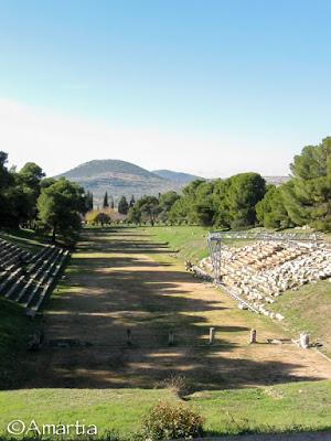 Stade Epidaure Argolide Péloponnèse Grèce