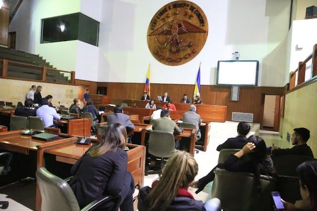 Asamblea de Cundinamarca fue convocada a sesiones extraordinarias