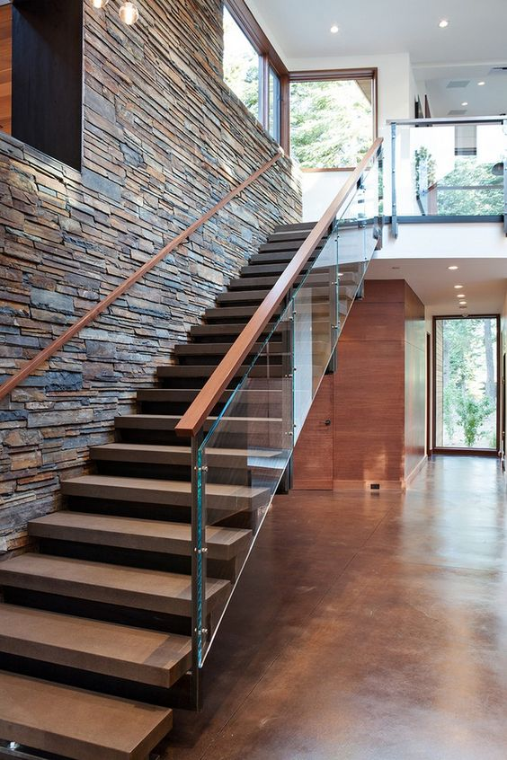 La escalera definici n partes y tipos de arkitectura for Imagenes escaleras modernas