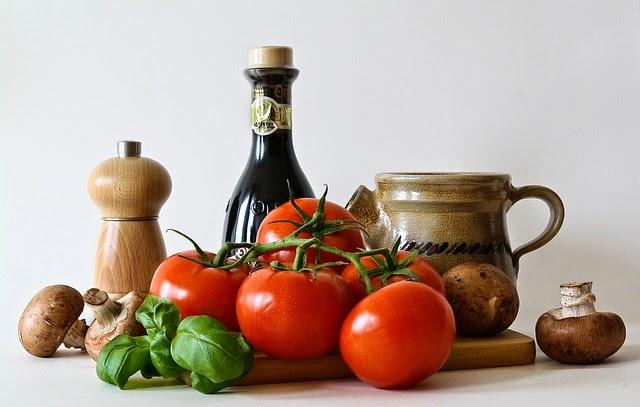 ingredientes en la cocina de la abuela
