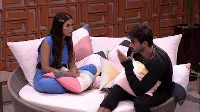 BBB20: Bianca questiona Guilherme sobre Hadson 'Você acha que ele está sendo falso?'