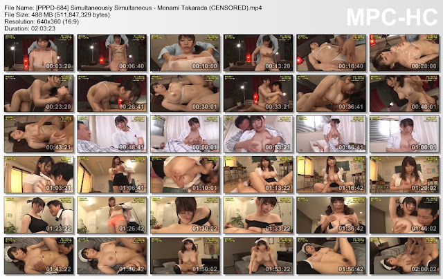 [PPPD-684] Simultaneously Simultaneous - Monami Takarada (CENSORED)