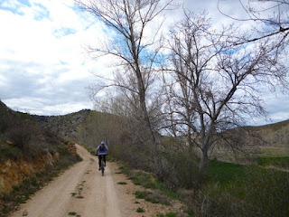 Valle del río Piedra. Cerca de Cimballa