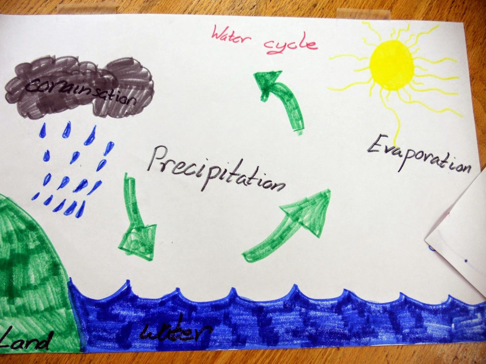 Water Cycle Diagram With Questions Chromalox Unit Heater Wiring Jnelson 39s First Grade Blog What The Weather