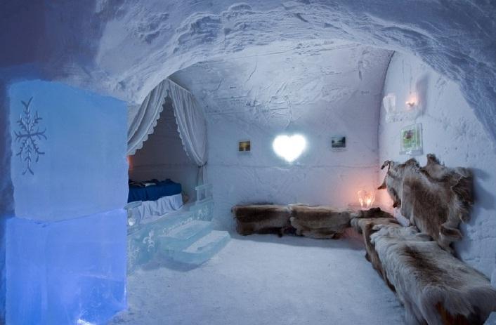 Ice Hotel Di Swedia